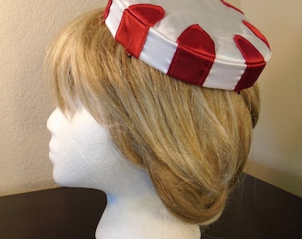Peppermint Pillbox Hats