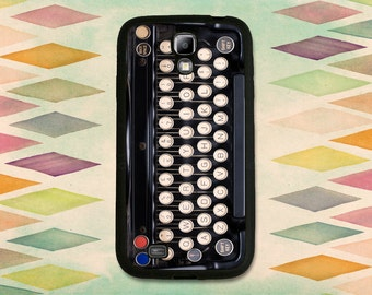 Vintage Typewriter Keys Case For The Samsung Galaxy S4 or S5
