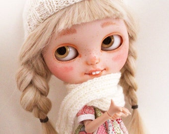 Winter set for Blythe - Ivory