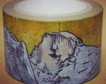 World Shan Shui : Earth Landscape Album - ㄊㄚㄌㄌ = Washi Masking Tape One Roll (30 mm)