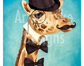The Gentlemanly Giraffe