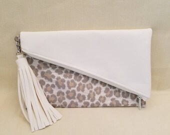 Fold-Over Clutch Bag
