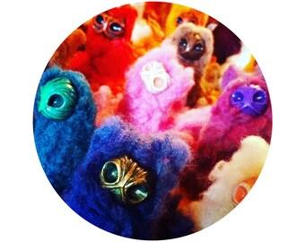 CUSTOM PIFFLET | Spirit Monster Art Doll