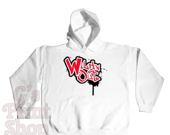 Wild N Out Hooded Sweatshirt Hoodie - Hip Hop - Urban - Nick Cannon Comedy - Red & Black