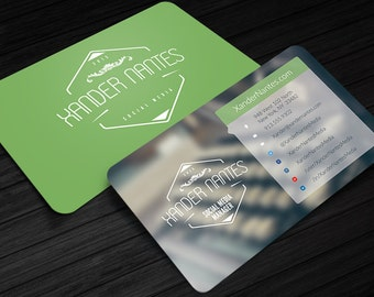 Photographer business card quadpix photoshop psd template social media designer business card photoshop psd template instant download easy editing layered change colors and photos fast reheart Choice Image