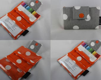 Business Card Wallet, Card Wallet, Business Card Holder, Wallet Card Case, Fabric Card Case, Fabric Wallet, Card Case