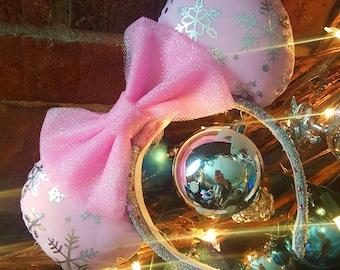 Pink Frozen Wonderland Ears