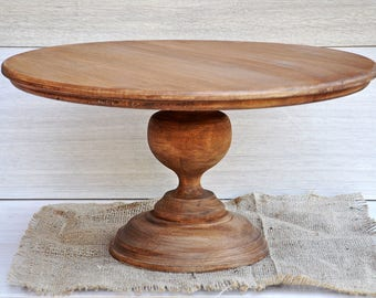 16 wedding cake stand wood cake stand etsy 1029