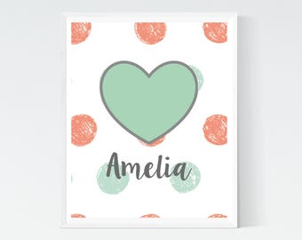 Floral nursery decor, Baby letters for wall, Personalized nursery, Customized gifts for baby, Baby Girl Prints, Hospital Door Hanger Girl