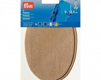Reinforcement elbows faux Tan suede 9 * 13.5 cm PRYM