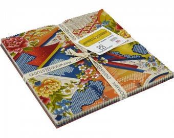 "Japanese Garden 10"" squares"