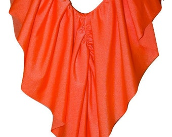 Long Ruffle Halter Top PICK A COLOR