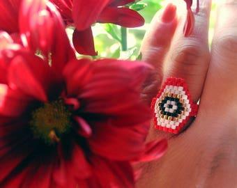 Red ring evil eye
