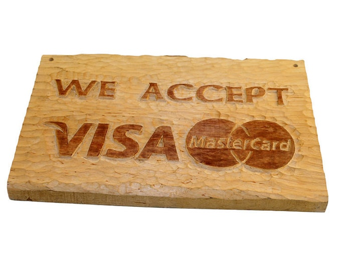 Personalized hand carved sign