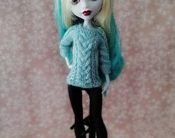 Monster High doll clothes/Кофта для кукол Monster High