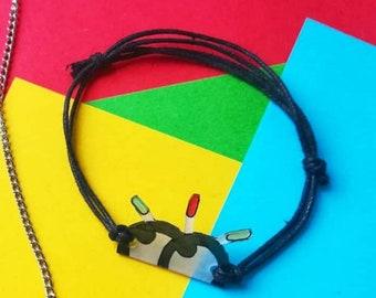 Bracelet visionaries Bigflo Oli - black