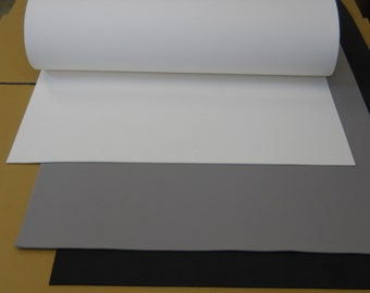"""1pc 5mm 26"""" x 39"""" EVA Large sheet (26"""" x 39"""") foam in black, white or grey color. Bonus large textured foam with 2+ sheets order."""