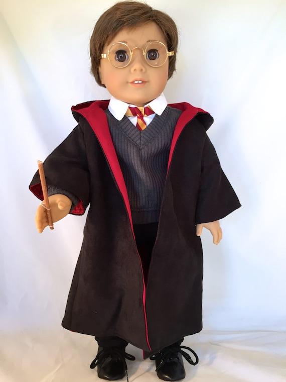 sc 1 st  Etsy & American Girl Sized Boys Wizard Costume