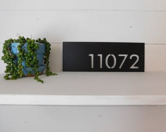 House Number Plaque, Address Sign, Door Number, Metal House Number, Metal Art, Address Number, Number Sign