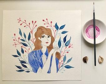 Original paint / Illustration