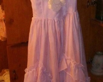 Vintage Lavendar Gunne Sax Dress- Costume
