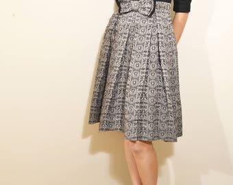Vintage 40-50's Miss Trude Jr. of California Dress
