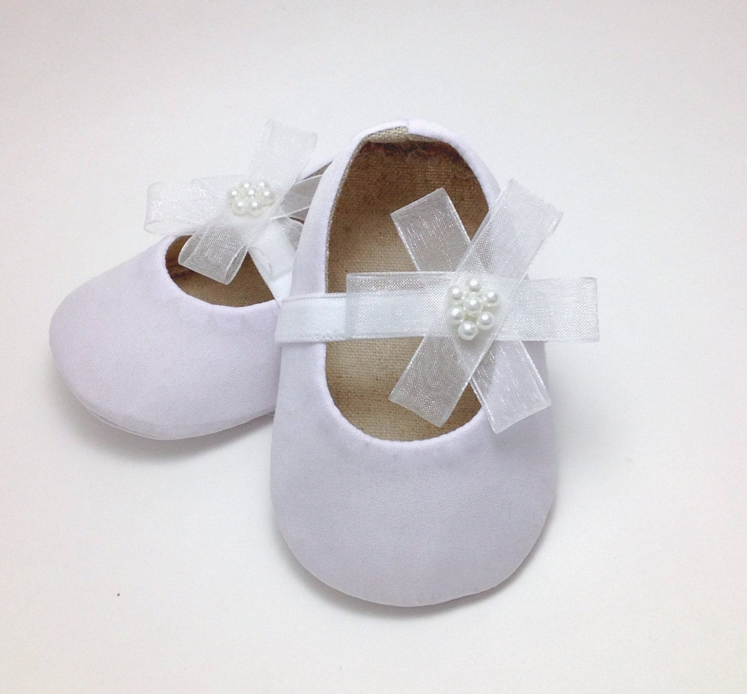 White Baby Shoes Baby Girl Shoes Baby Baptism Shoes Baby