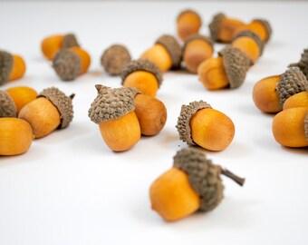 Acorns 1 dozen decorative acorns
