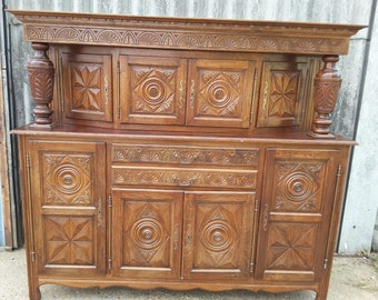 French Antique Buffet Cupboard Sideboard Kitchen **NOW SOLD**