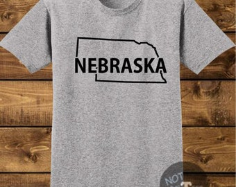 Nebraska Handmade Shirt, Best Selling Items, Top Seller, Top Selling Item, Top Sellers, Top Selling, Hometown, Nebraska Shirt, SKU - 557