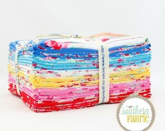 "Flower Sugar - Very Berry Cherry - Fat Quarter Bundle - 23 - 18""x21"" Cuts - by Lecien Fabrics"