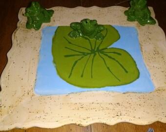 Frog Platter