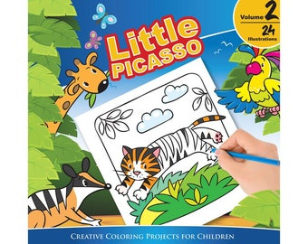 Little Picasso Vol. 2 (Creative Coloring Projects for Children)