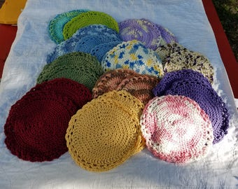 round wash cloths