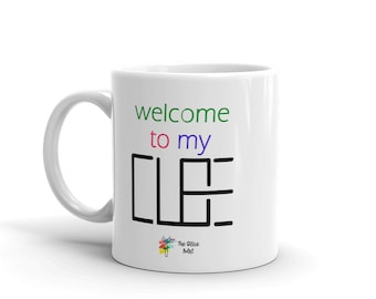 Cubicle Mug - Welcome to my Cube, Cubicle Gift, Funny Office Mug, Funny Office Gift, Funny Work Mug, Coworker Gift