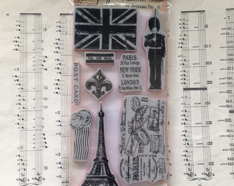 Euro Elements - Tim Holtz, Stampers Anonymous, Cling Stamps, Scrapbooking, Card Making, PL, Project Life, Planners, Stationary
