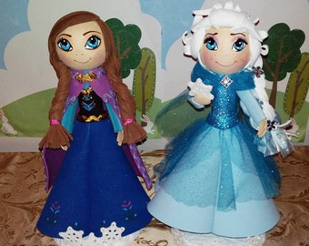 Order for Sandy Arriaga. Frozen.  Anna, Elsa, Olaf and Kristof centerpieces.