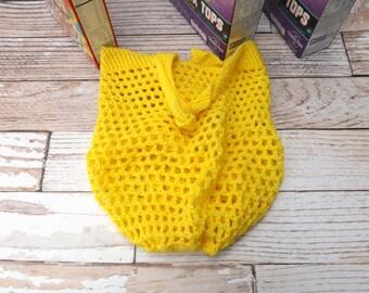 CROCHET PATTERN - Reusable Grocery Bag - Pattern for beach bag - market tote - farmer's market bag - dance bag - carry all bag - DIY pattern