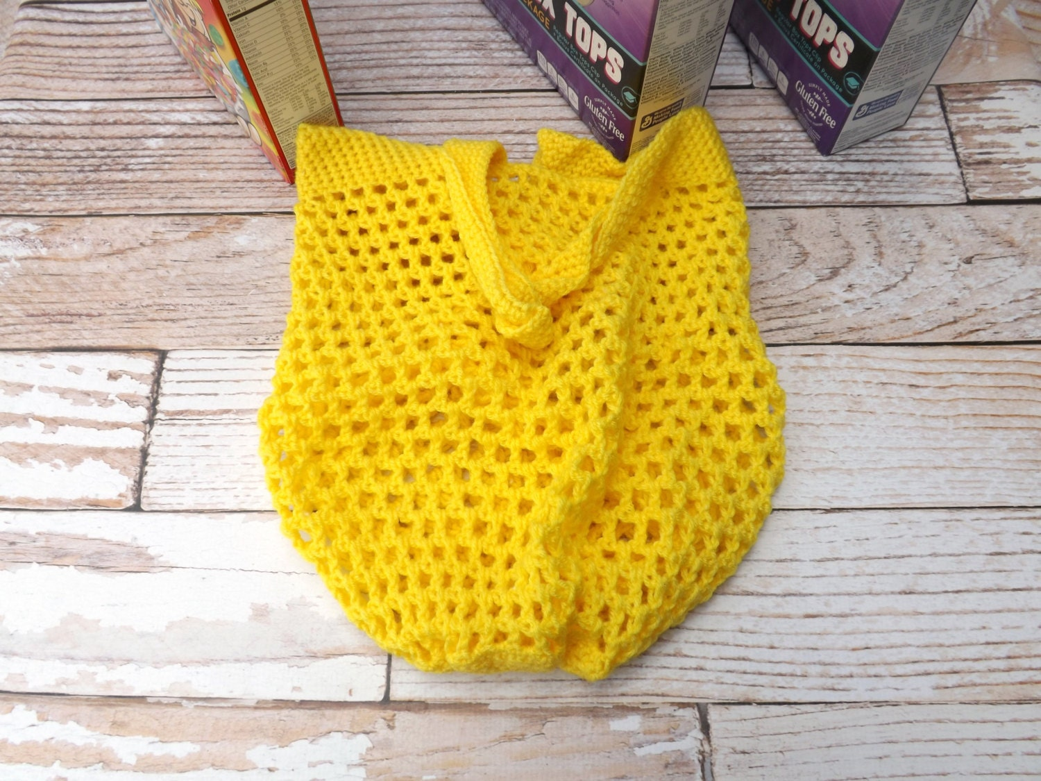 CROCHET PATTERN - Reusable Grocery Bag - Pattern for beach bag ...