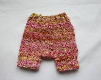 Hideously Pink Pantaloons! Baby Diaper Cover