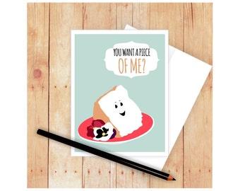 Birthday Card Food Puns ~ Shellfish birthday card nautical birthday card birthday pun