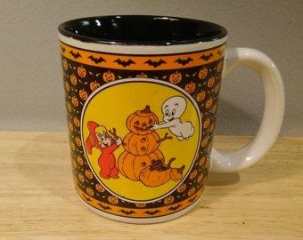 1986 Casper The Friendly Ghost and Wendy Coffee Mug
