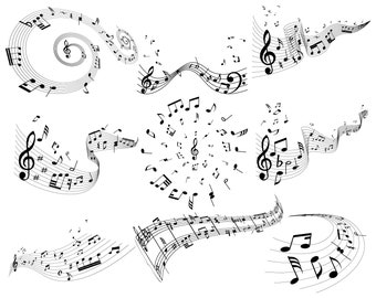 Music notes, Musical notes, Music sheet, Music, Notes, Silhouette,SVG,Graphics,Illustration,Vector,Logo,Digital,Clipart