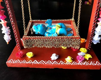 Baby Krishna, Golu doll, Navarathri collection