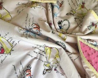 Classic Disney Princess Baby Blanket