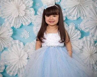 Frozen birthday tutu dress