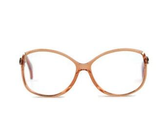 Vintage glasses frame atrio* MOD 250 red clear glasses eyeglasses frames round women men - Classical Sense