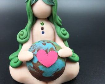 Special Edition: Mother Earth Goddess ((#3)) Earth mother, mother earth, earth woman, earth goddess, earth day