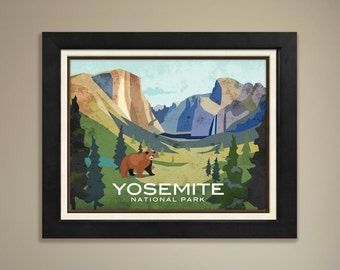 Yosemite National Park Framed Print