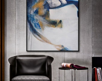Abstract Painting, Large wall art, Hand painted art on canvas, Modern oil painting wall art